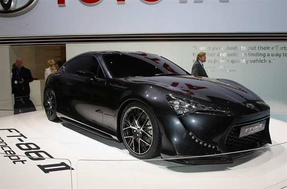 New Toyota Sports Car ft 86 The Ft-86 Could Temporary Fill