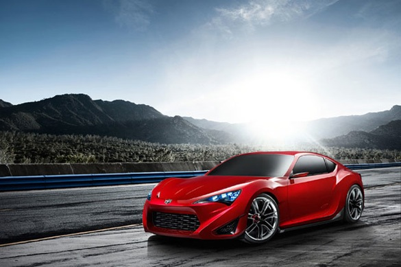 This Is Scion's FT-86 (the Scion FR-S)