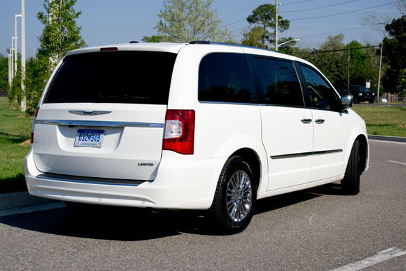 2011 chrysler town and country rear side. Cars Review. Best American Auto & Cars Review