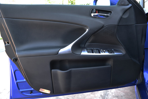 Service Manual Remove Rear Door Trim 2011 Lexus Is F