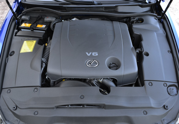 2011 lexus is 250 hp