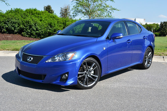 2011 lexus is250 f sport review test drive. Black Bedroom Furniture Sets. Home Design Ideas