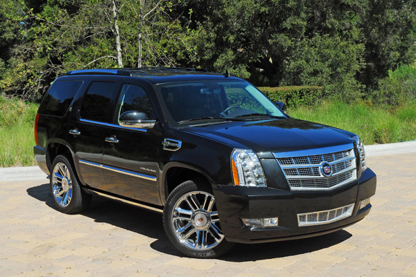 2011 Cadillac Escalade 4WD Platinum Hybrid Review & Test Drive