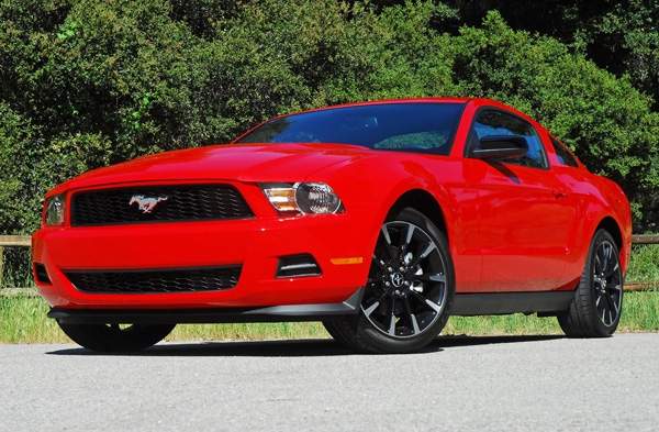 2011 Ford Mustang V6 Review & Test Drive
