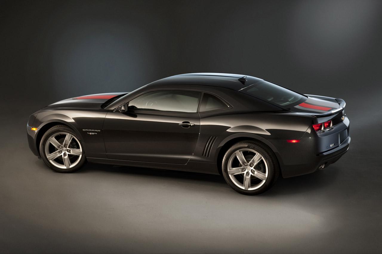 Chevrolet Announces 45th Anniversary Edition 2012 Camaro