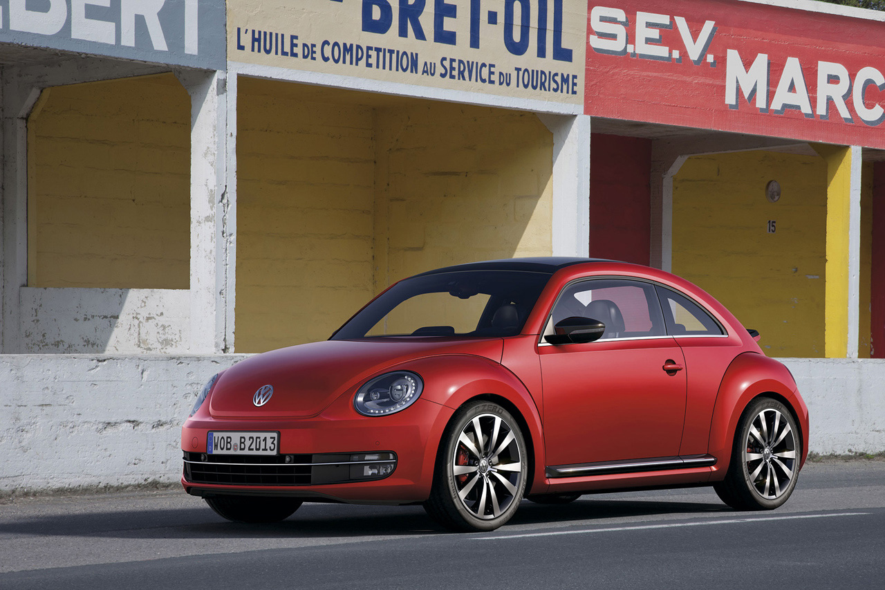 The VW Beetle, an automotive