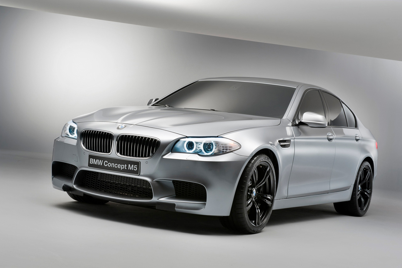2012 BMW M5 Concept Officially Revealed