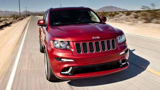 Fastest Jeep Ever Made: 2012 Jeep Grand Cherokee SRT8 Revealed