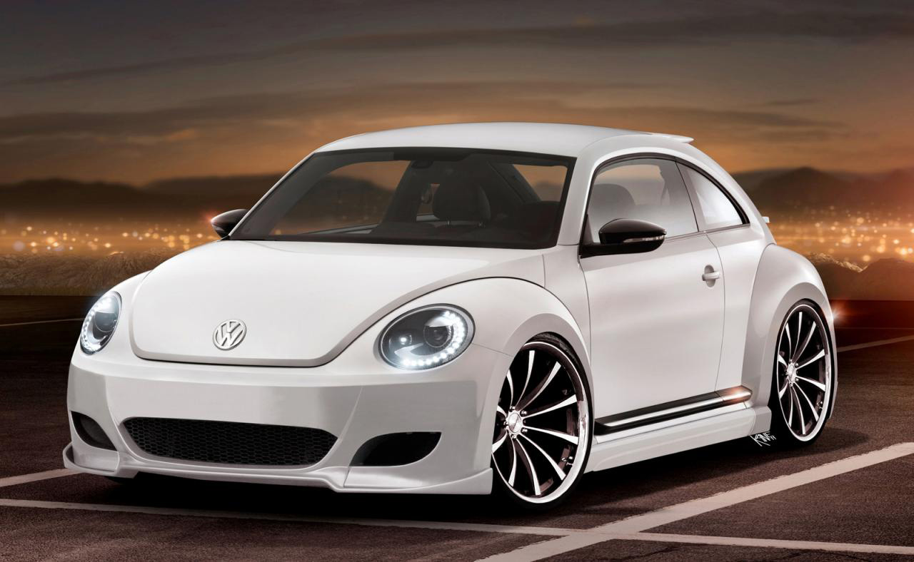 One Bad A Beetle 2012 Volkswagen Beetle R Rendered