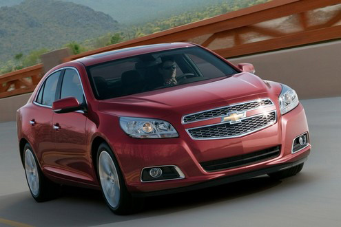 2013 Chevrolet Malibu First Images Surface