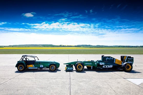 The Caterham Seven Lives: Team Lotus Buys Caterham