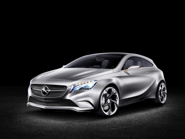 Mercedes Picks New York To Show Their Concept A-Class