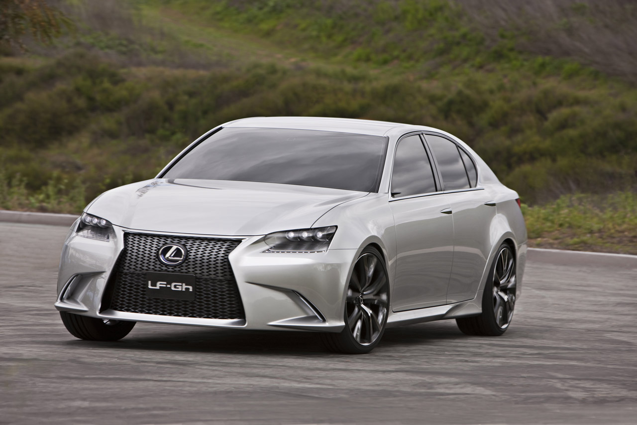 The new Lexus LF-Gh concept is