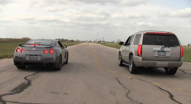 Ever See An Escalade Beat A GT-R?