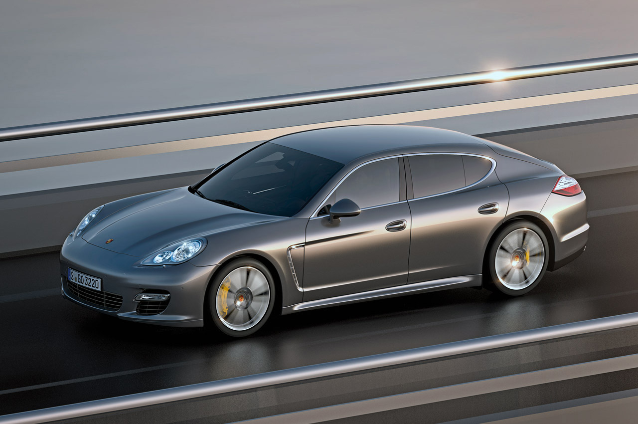 The Fastest Production Sedan In The World Featured At 2011 New York Auto Show 2011 Porsche
