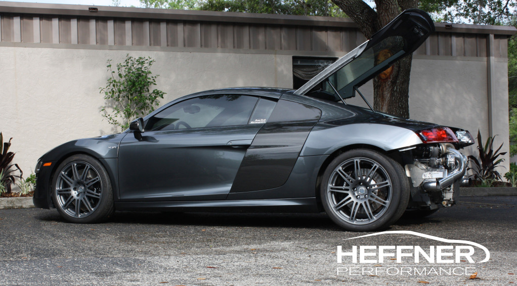 Heffner Performance Audi R8 V10 Twin Turbo Is Totally Winning