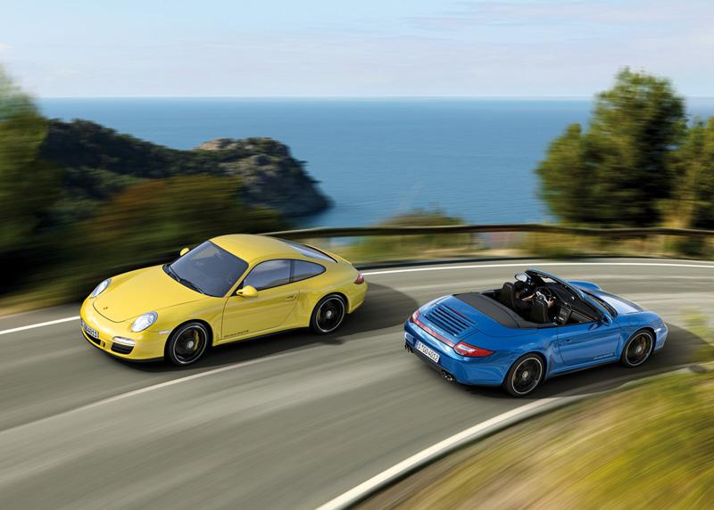 Porsche Announces The AWD 911 Carrera 4 GTS