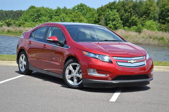 2011 Chevrolet Volt Review & Test Drive