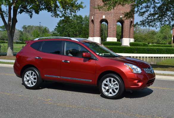 2011 Nissan Rogue Sl Review Test Drive Automotive Addicts