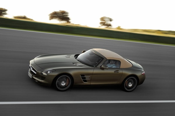 Drop-Top Perfection: The Mercedes-Benz SLS AMG Roadster