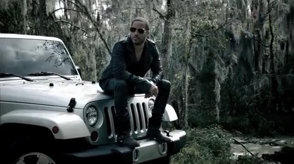 Lenny Kravitz Pitches… The Jeep Wrangler?