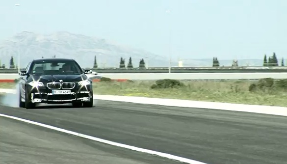 Video: BMW's New M5 Gets A Workout