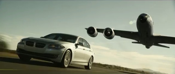 BMW Reminds You That The 5 Series Is Fuel Efficient
