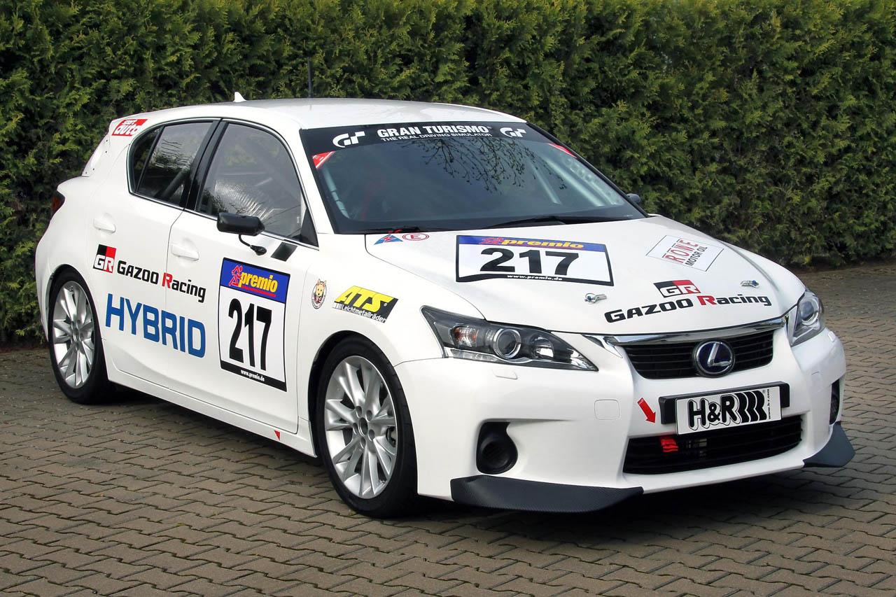 Race-prepped Lexus CT 200h Hybrid Makes Debut at Nurburgring