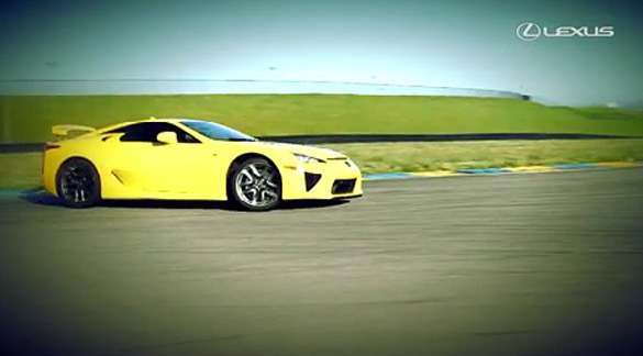 Video: Formula Drift's Tony B takes Lexus LFA sideways around Infineon Speedway