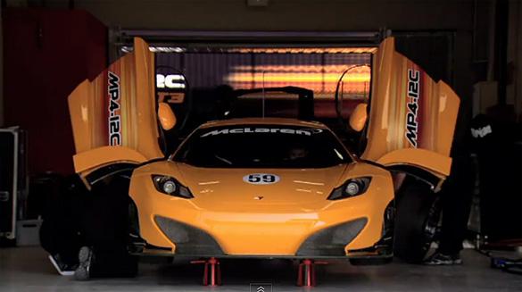Winning Captivation: McLaren MP4-12C GT3 Race Car Videos