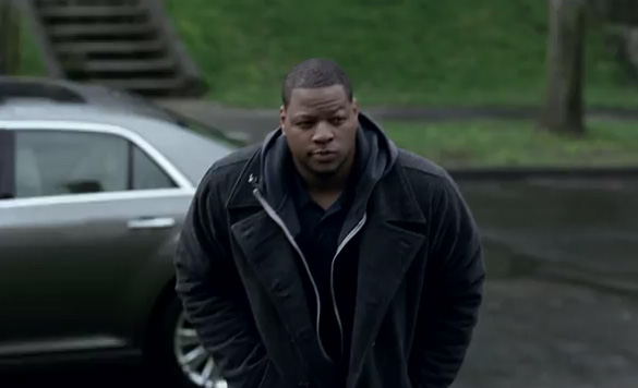 Ndamukong Suh & New Chrysler 300 Featured in 'Imported From Detroit Homecoming' Commercial