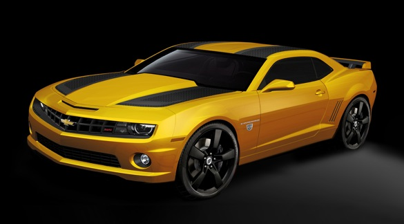 Chevy Announces Yet Another Bumblebee Camaro