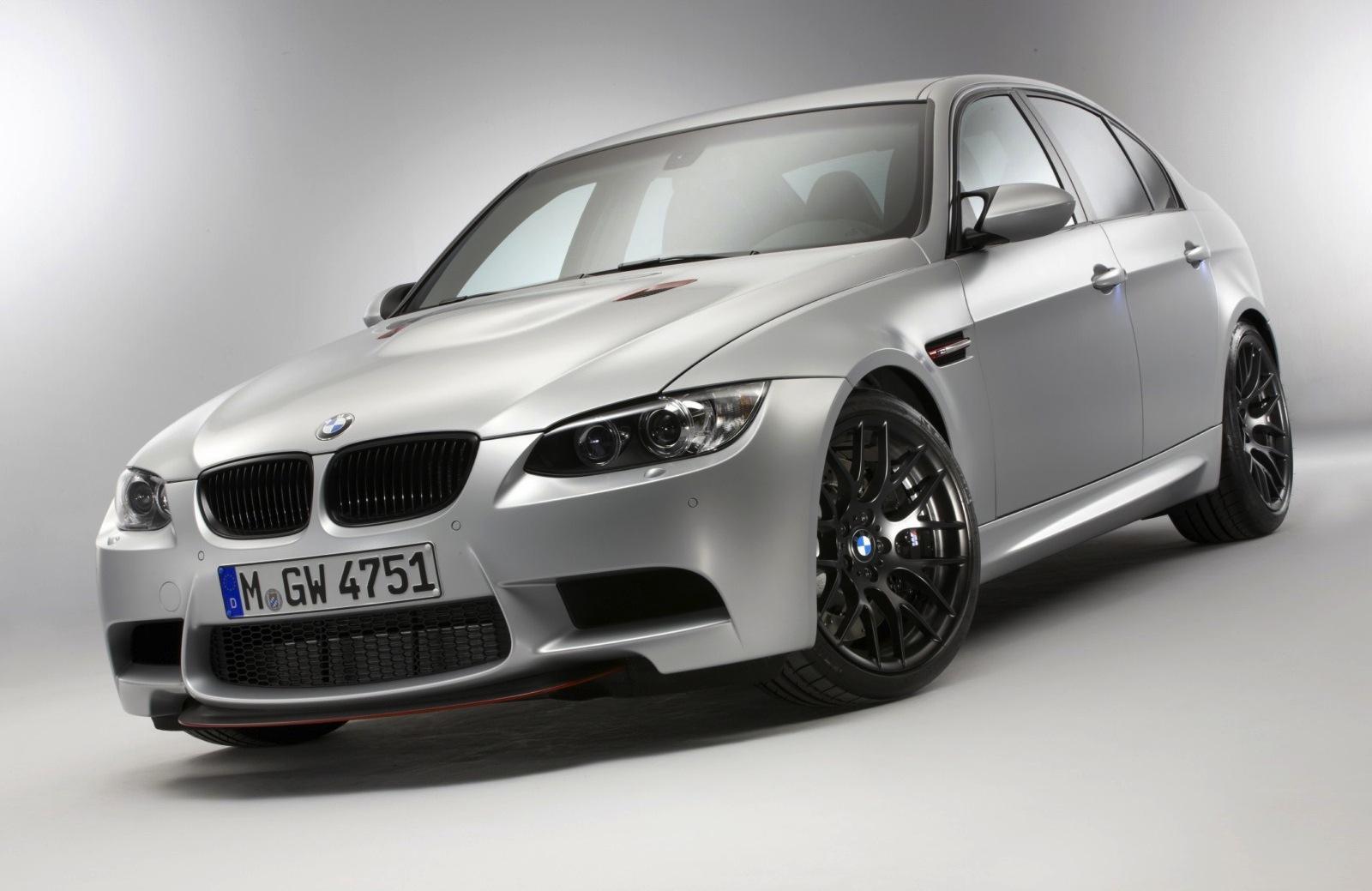 BMW Announces M3 CRT Lightweight Sedan