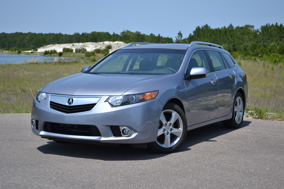 2011 Acura TSX Sport Wagon Review & Test Drive