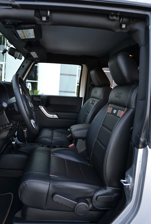 Black Leather Seats Jk The Top Destination For Jeep Jk Wrangler News Rumors And
