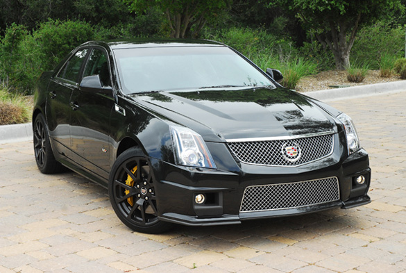 2011 cadillac cts v black diamond edition review test drive. Black Bedroom Furniture Sets. Home Design Ideas