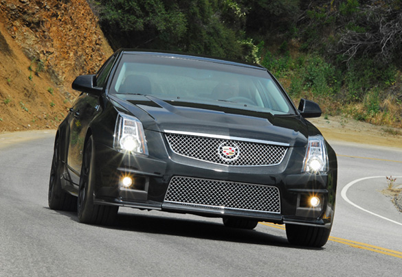 2011 Cadillac Cts V Black Diamond Edition Review Test Drive