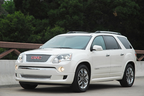 2011 gmc acadia denali review test drive. Black Bedroom Furniture Sets. Home Design Ideas