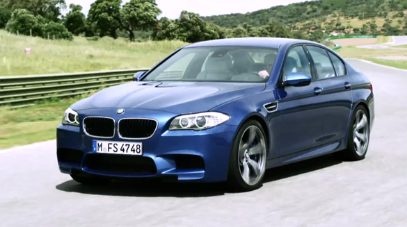 New 2012 Bmw M5 F10 Production Action Video