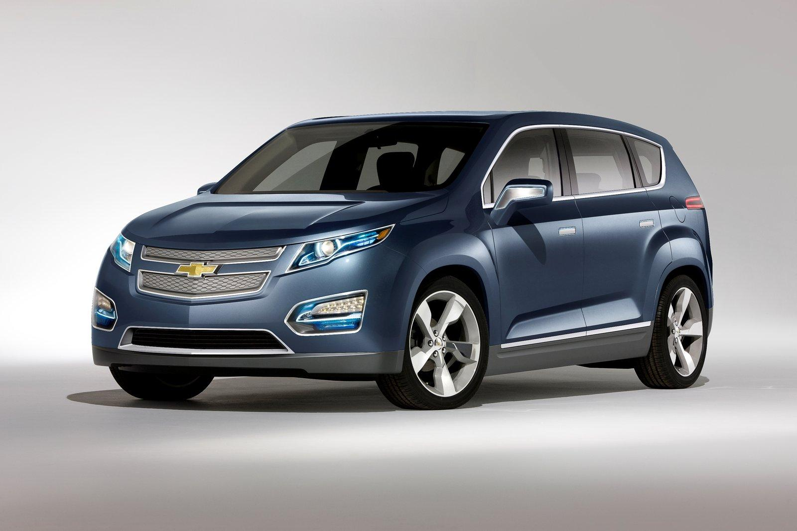 GM Plug-In Hybrid Crossover (MPV5) Going to 2012 NAIAS