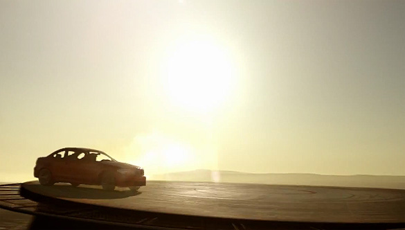 BMW 1 Series M Coupe Literally Pushes Precision Driving to Great Heights