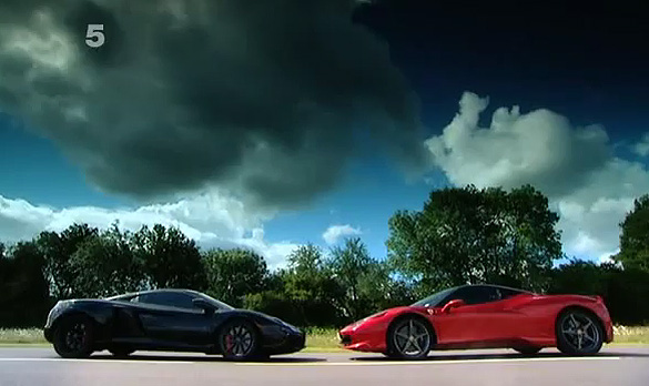 Video: Fifth Gear Runs Ferrari 458 Italia against McLaren MP4-12C