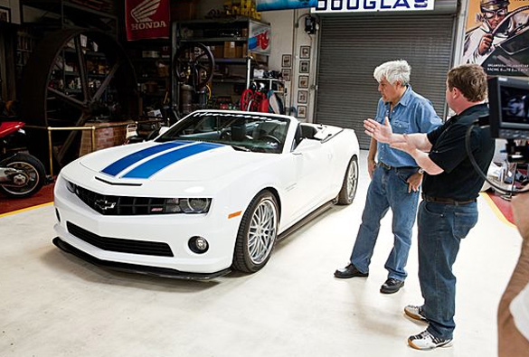 Video: Jay Leno Forms His Own Opinion of 2011 Hennessey HPE600 Camaro Convertible