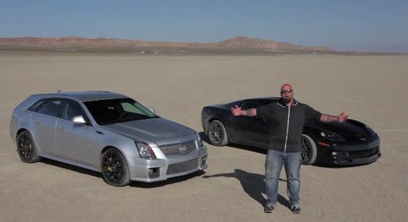 Matt Farah Takes Cadillac CTS-V Wagon for Top Speed Run