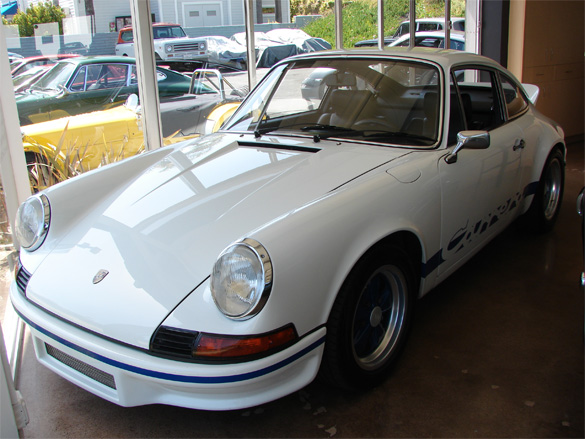 A White Knuckle Ride: The Iconic 1973 Porsche 2.7 RS