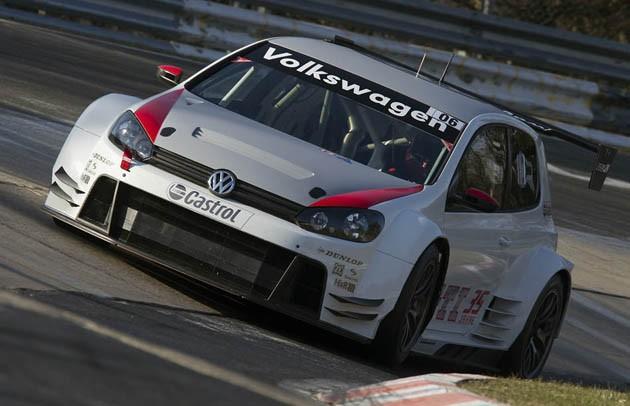VW's Golf24 Goes Racing