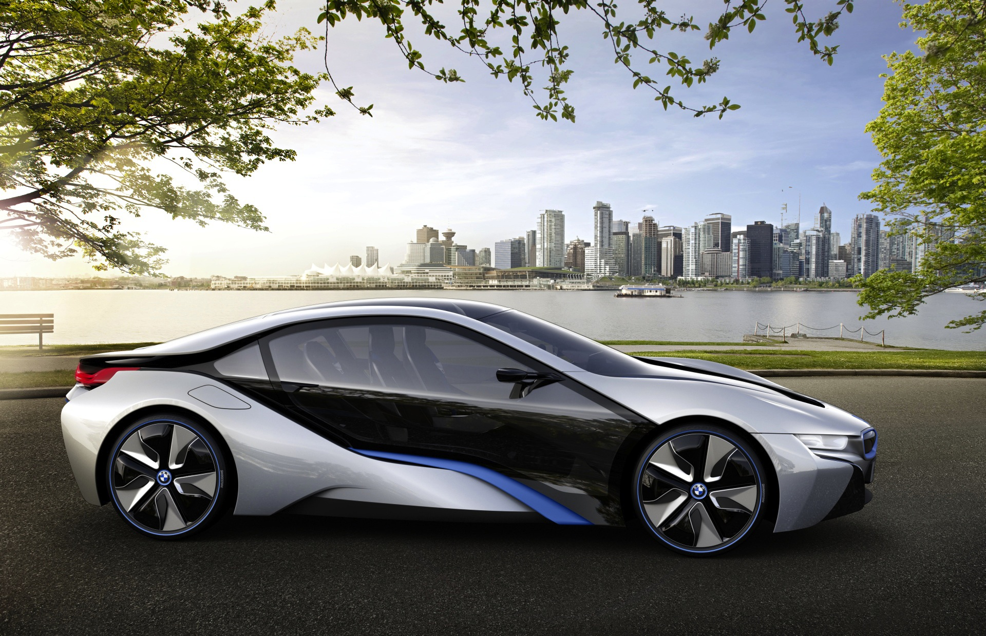 world debut bmw i8 concept 0 60 under 5 seconds 78mpg. Black Bedroom Furniture Sets. Home Design Ideas