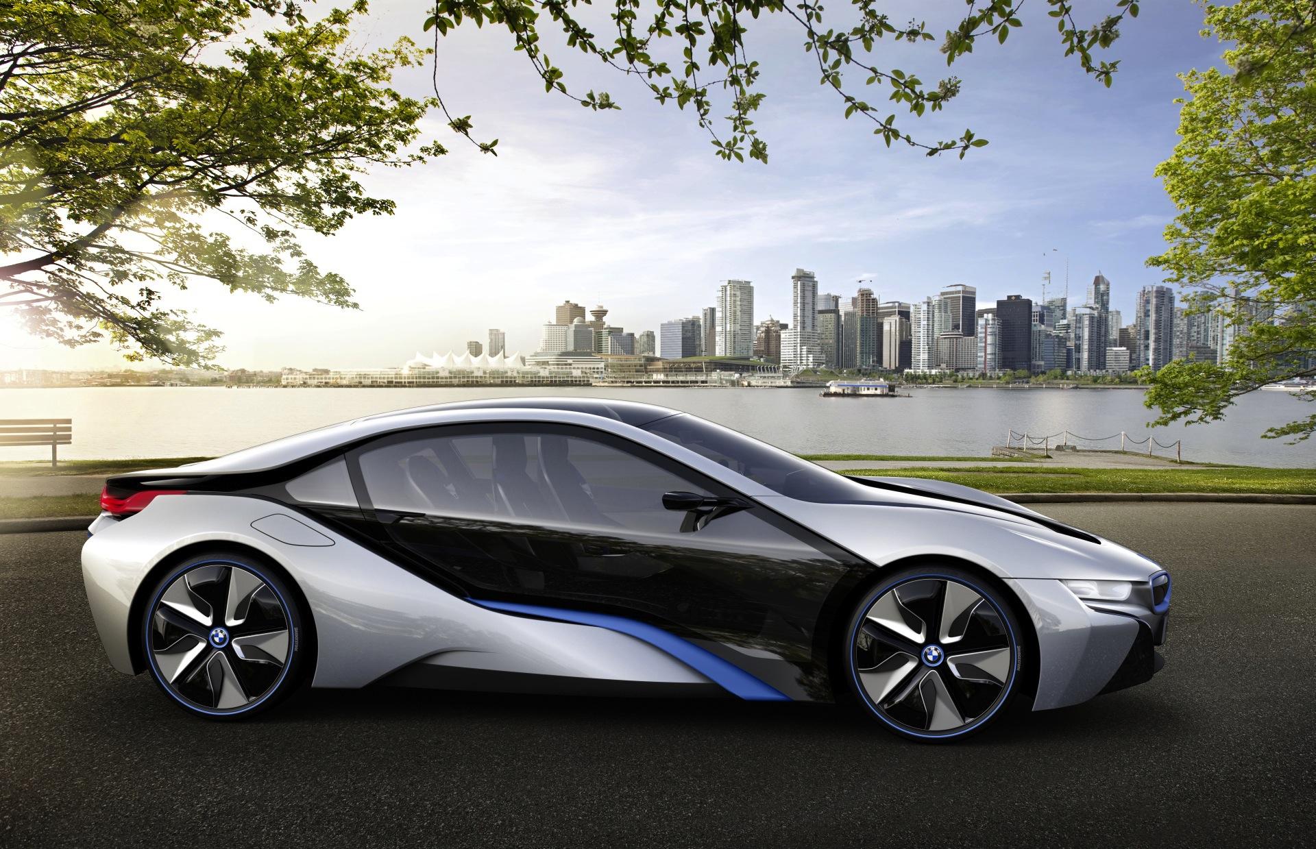 World Debut Bmw I8 Concept 0 60 Under 5 Seconds 78mpg