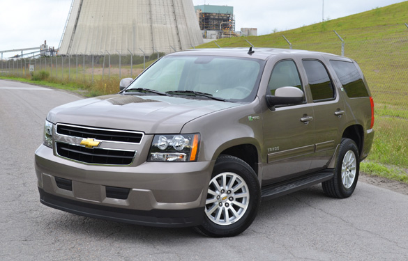 2011 Chevrolet Tahoe Hybrid Review and Test Drive