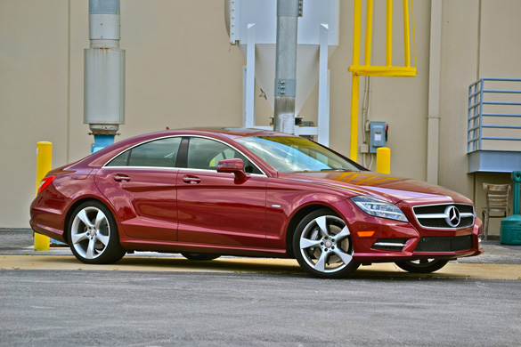 2012 Mercedes-Benz CLS550 Review & Test Drive